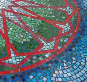 St Athans Hotel mosaic